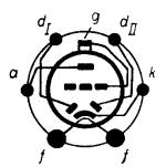 2A6, Tube 2A6; Röhre 2A6 ID2650, Double Diode-Triode