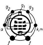 6C6, Tube 6C6; Röhre 6C6 ID3538, Vacuum Pentode