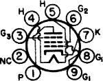 5763, Tube 5763; Röhre 5763 ID4016, Beam Power Tube