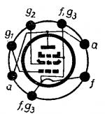 1S4, Tube 1S4; Röhre 1S4 ID3087, Vacuum Pentode