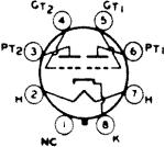 6N7, Tube 6N7; Röhre 6N7 ID2983, Double Triode