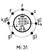 12AD6, Tube 12AD6; Röhre 12AD6 ID3816, Pentagrid-Converter
