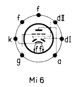 12AT6, Tube 12AT6; Röhre 12AT6 ID2948, Double Diode-Triode