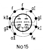 12AU7A, Tube 12AU7A; Röhre 12AU7A ID5285, Double Triode