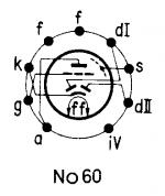 EBC 81, Tube EBC81; Röhre EBC 81 ID3425, Double Diode-Triode