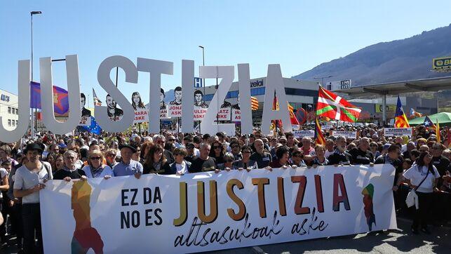 Manifestación en Alsasua