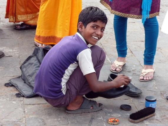 Shoeshine boy