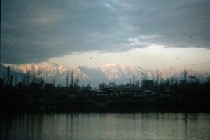 Mountains surrounding Srinagar