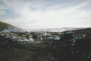 Municipal dump outside of Cluj, Romania