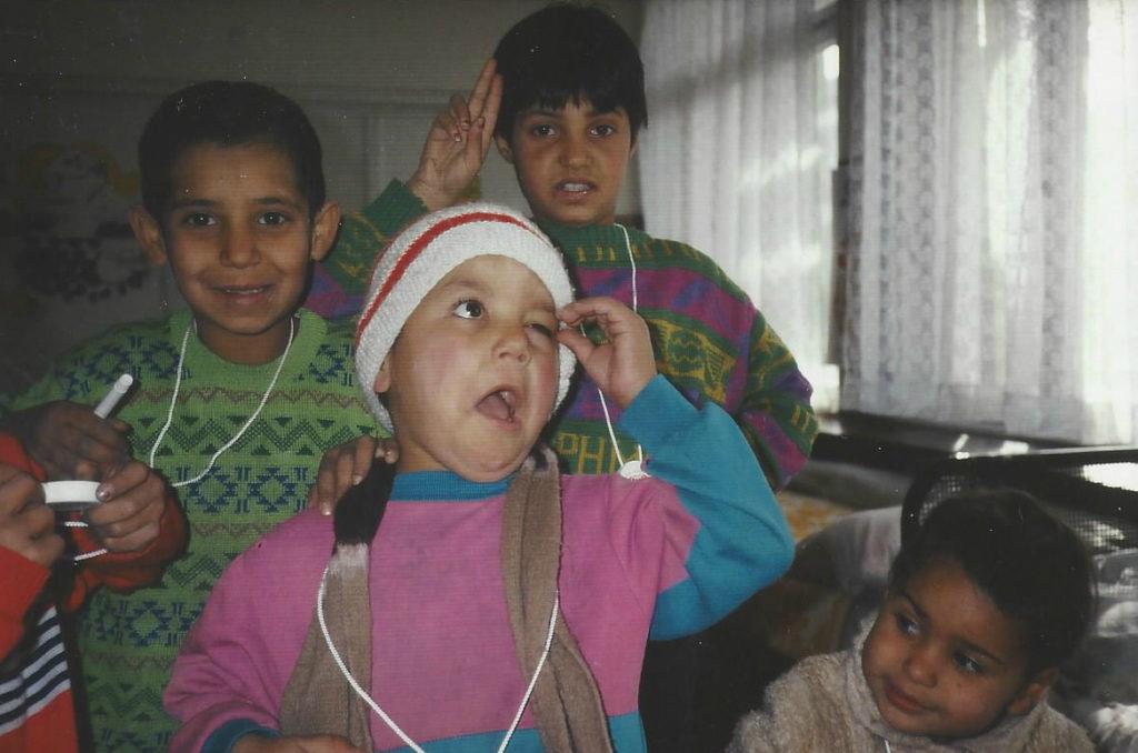 Former Romanian street children