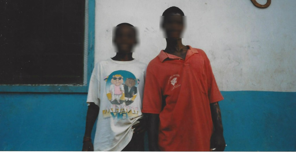 Robert and Momo, another former child soldier
