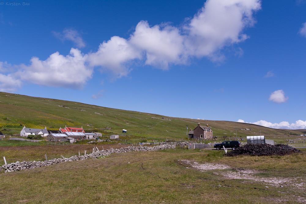 Crofts in Netherdale Scotland (© Flickr/kjbax )