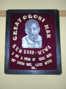 Ken Saro-Wiwa poster