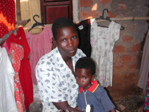 Pascale and her son