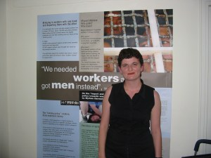 Shevi Korzen, executive director for the Hotline for Foreign Workers