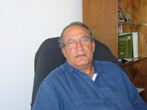Dr. Eyad el Saraaj, chairman of the Gaza Community Mental Health Programme