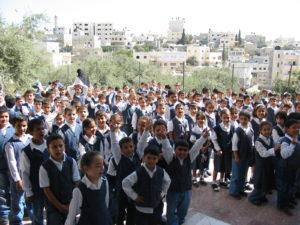 Children at Terry Boulatta's school