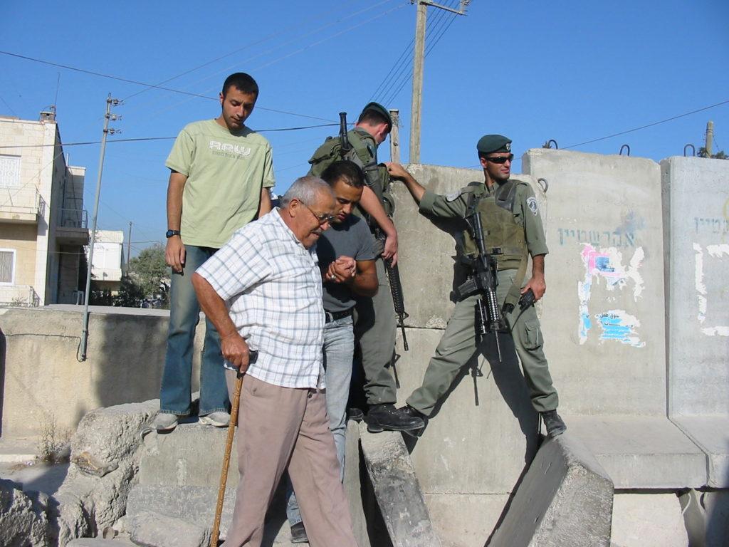 Abu Dis crossing