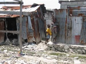 Port-au-Prince slum