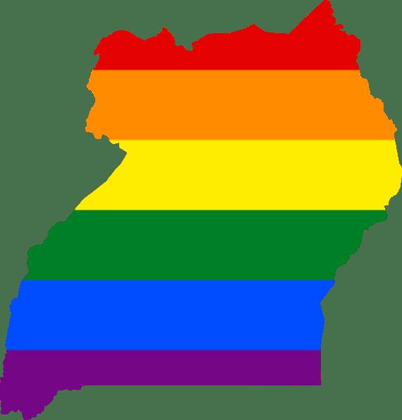 LGBT Uganda flag