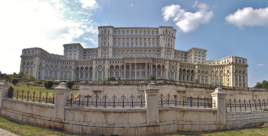 Palace of the People in Bucharest
