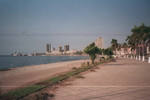 Luanda's waterfront