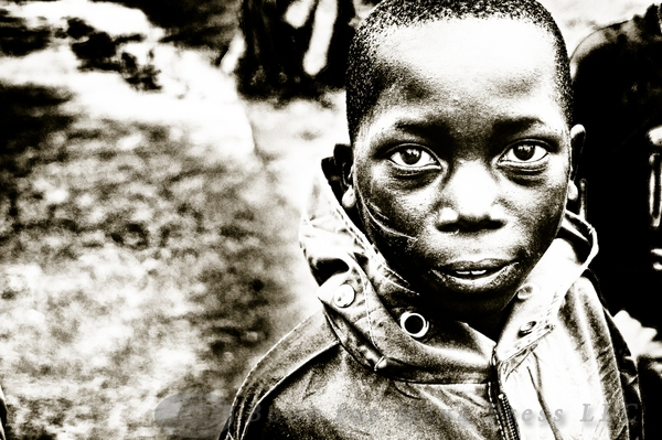 Rwandan child