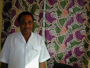Dr. Edward Nahim, Sierra Leone's only psychiatrist