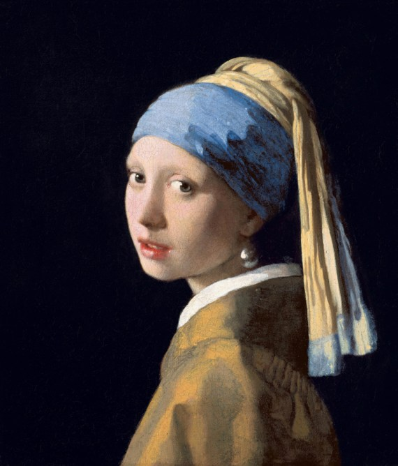 Vermeer- Girl with the Pearl Earring, 1665-7 (The Hague)e