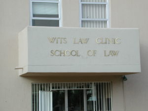 School of Law, Wits Law Clinic