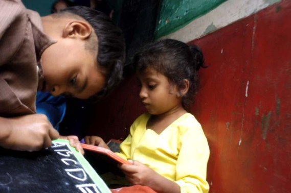 Child literacy in India