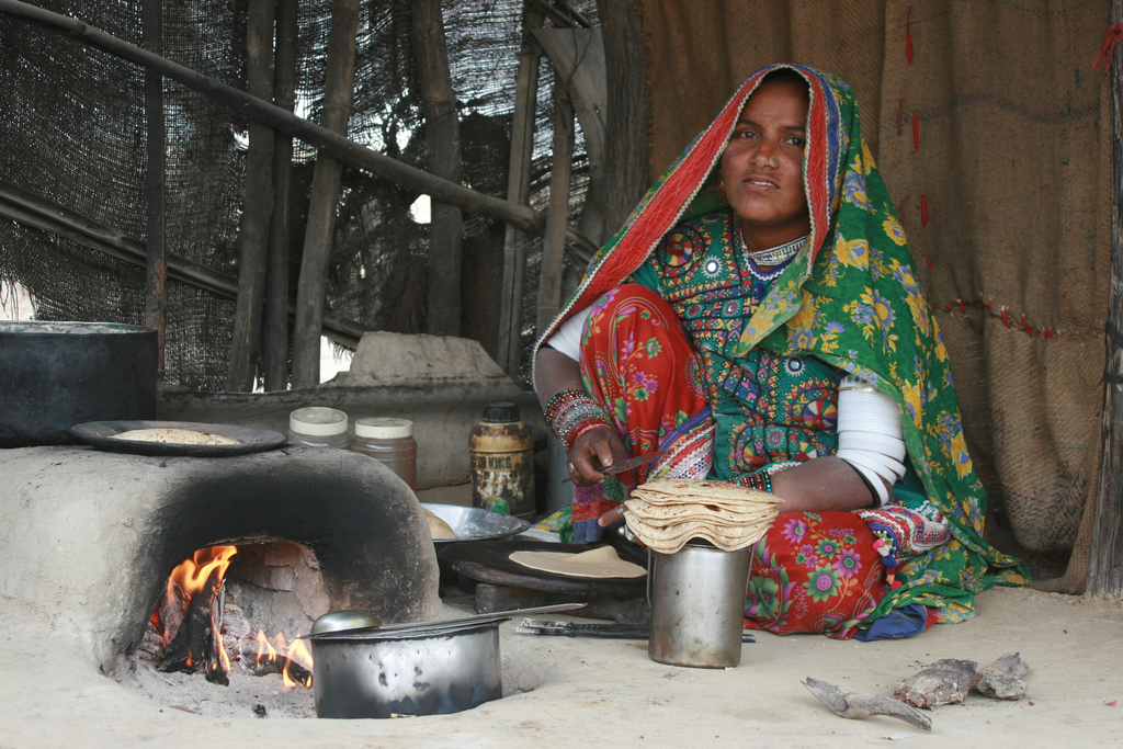 Indian village cook