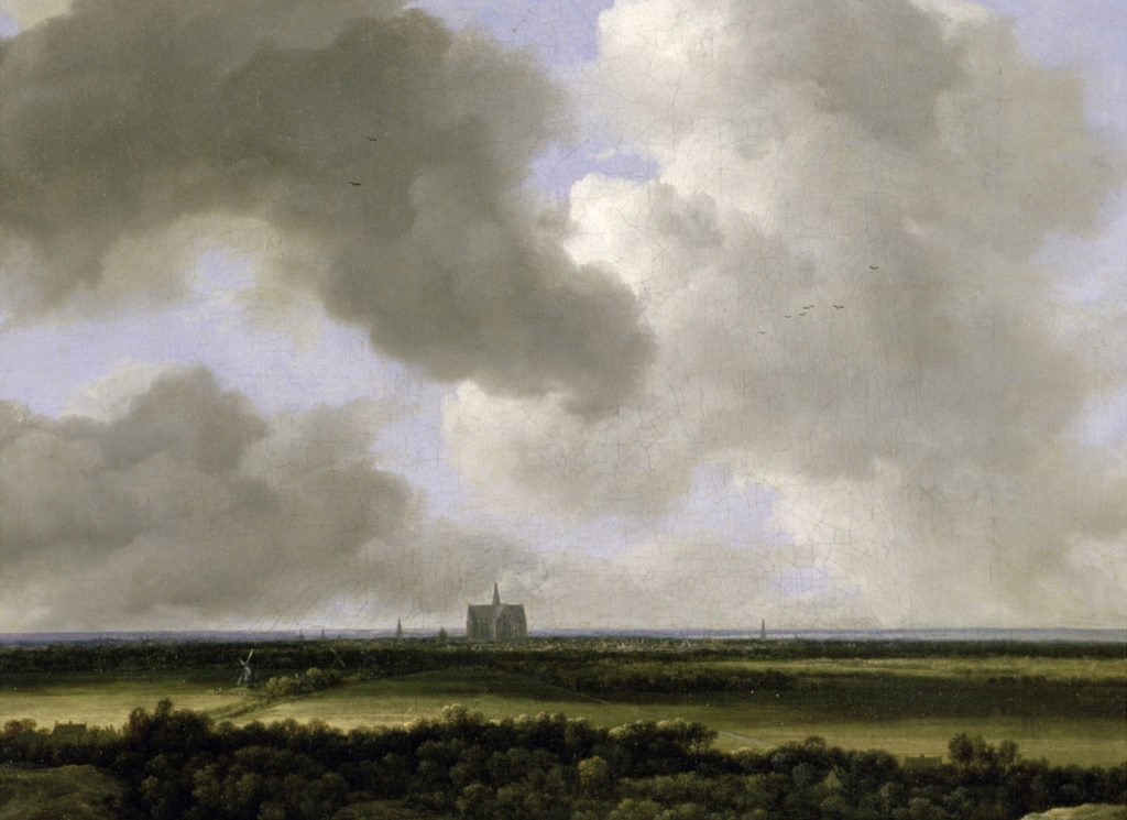 Panoramic View of Haarlem, c.1670 (Guildhall Gallery, London)