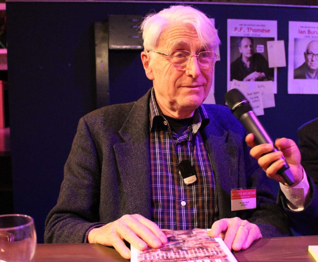 Professor Jan Van Hooff at a conference in The Hague in 2014