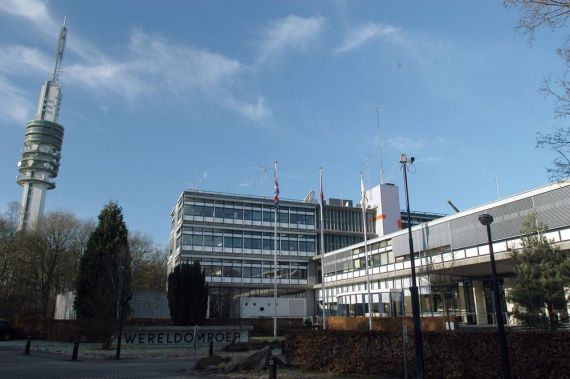 The Radio Netherlands building in Hilversum