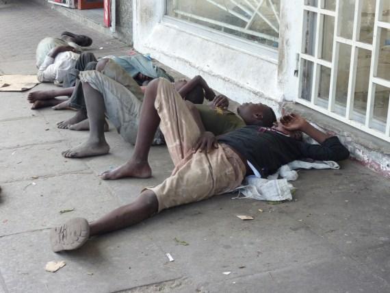 Street children in Mombassa
