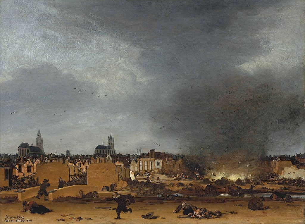 The day the world came to an end: The great Delft Thunderclap of ...
