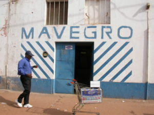 Mavegro supermarket and office in Bissau