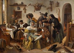 Jan Steen - Beware of Luxury