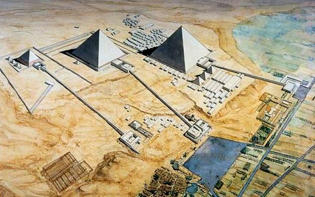 Чудеса Древнего Мира. Египетские пирамиды