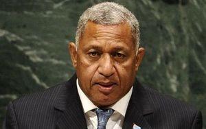 Rear-Admiral Frank Bainimarama.