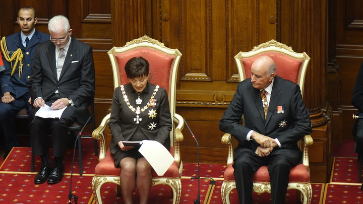 Governor-General Dame Patsy Reddy at the State Opening of Parliament.