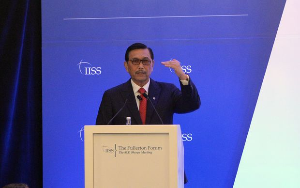 Indonesia's Co-ordinating Minister for Political, Legal and Security, Luhut Pandjaitan. Photo: AFP