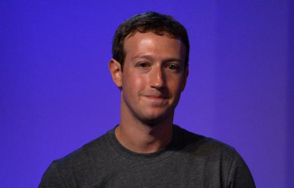Facebook founder Mark Zuckerberg in India in New Delhi on 9 October, 2014