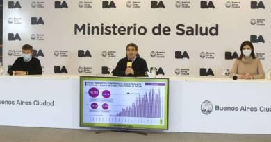 """Fernán Quirós: """"Hasta hoy hemos confirmado en la Ciudad 70.110 casos de coronavirus"""""""