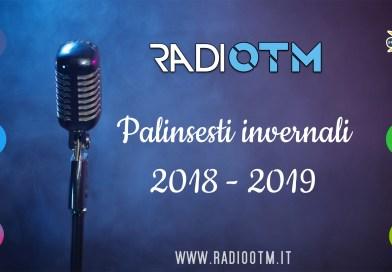 Palinsesti Autunno/Inverno 2018-2019
