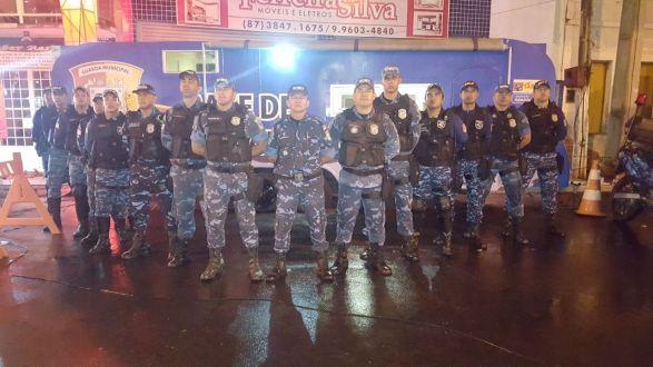 Guarda Municipal de Tabira apresenta balanço da operação carnaval 2018