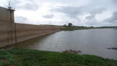 Chuvas elevam nível d'água da Barragem de Brotas