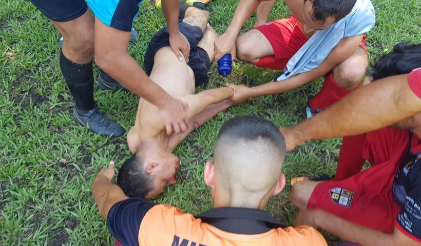 Árbitro é agredido em jogo realizado ontem em São José dos Campos
