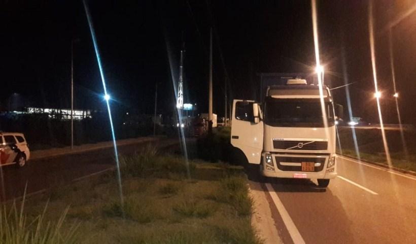 Motorista é feito refém em Jacareí e roubo de carga é frustrado